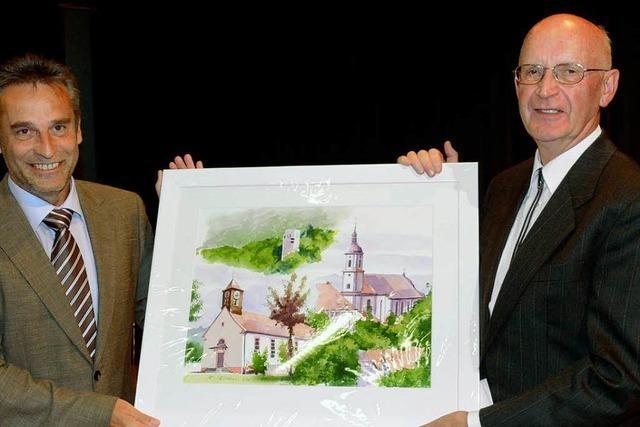 Hohberg sagt Adieu zu Pfarrer Haidlauf