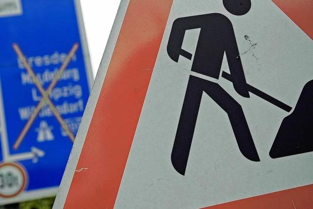 Bad Krozingen baut neuen Kreisverkehr