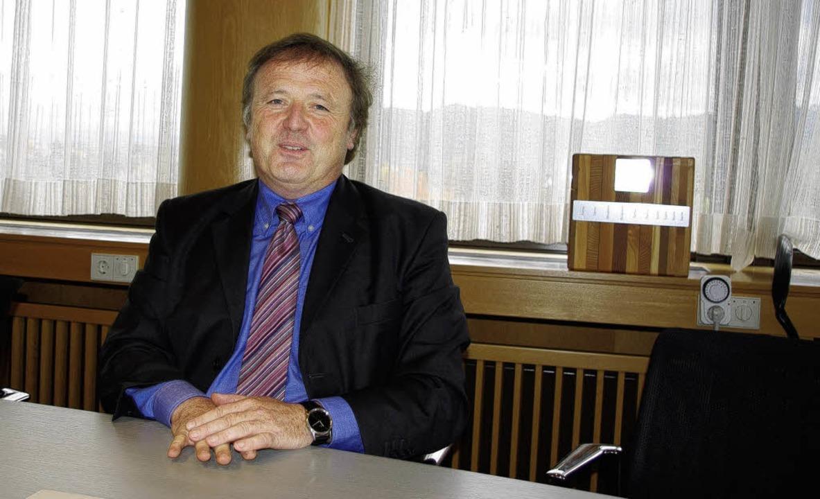 Trotz guter  Bilanz räumt  Landrat Kla...nach nur einer Amtszeit seinen Stuhl.   | Foto: Hubert Röderer