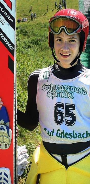 Bester Baden-Württemberger in Berchtesgaden: der 18-jährige Jonas Faller  | Foto: Helmut Junkel