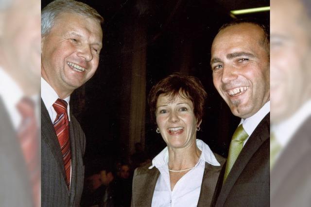 Vereine gratulieren dem künftigen Bürgermeister