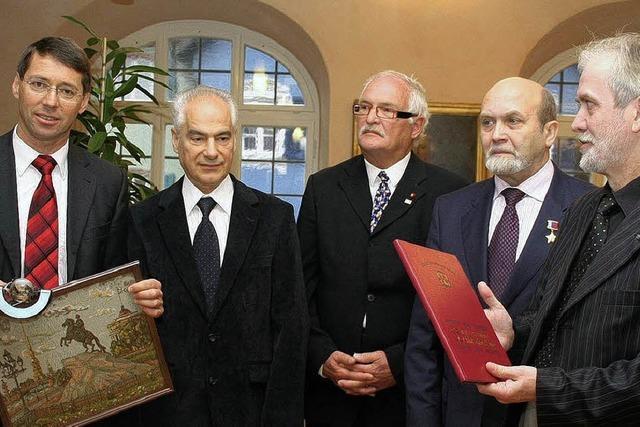 Delegation aus St. Petersburg sucht Partnerschaften