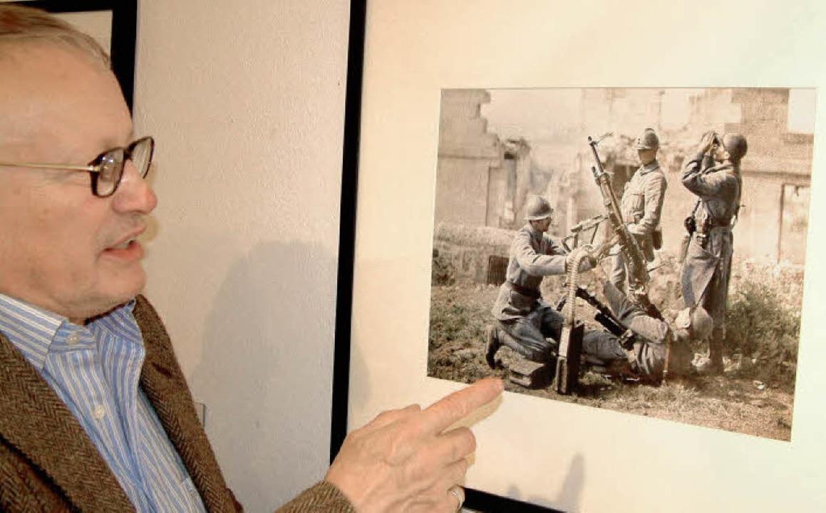 <Bildtext>Reinhard Schultz von der Ber... aus dem Ersten Weltkrieg</Bildtext>.   | Foto: roswitha frey