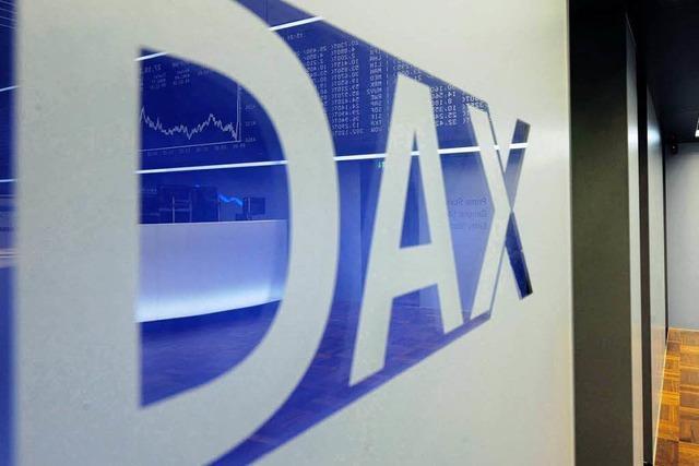 DAX startet mit Zuwächsen in den Tag