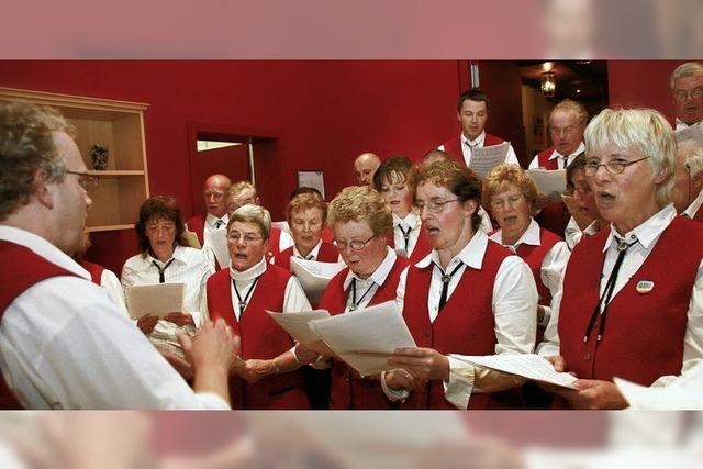 Wenn Freunde gemeinsam singen