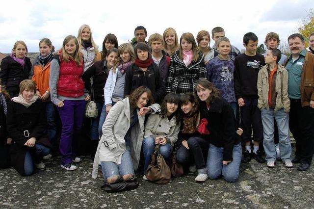 Schüler beschäftigten sich in Bellême mit Recycling