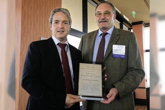 Preis für jungen Lahrer Forscher