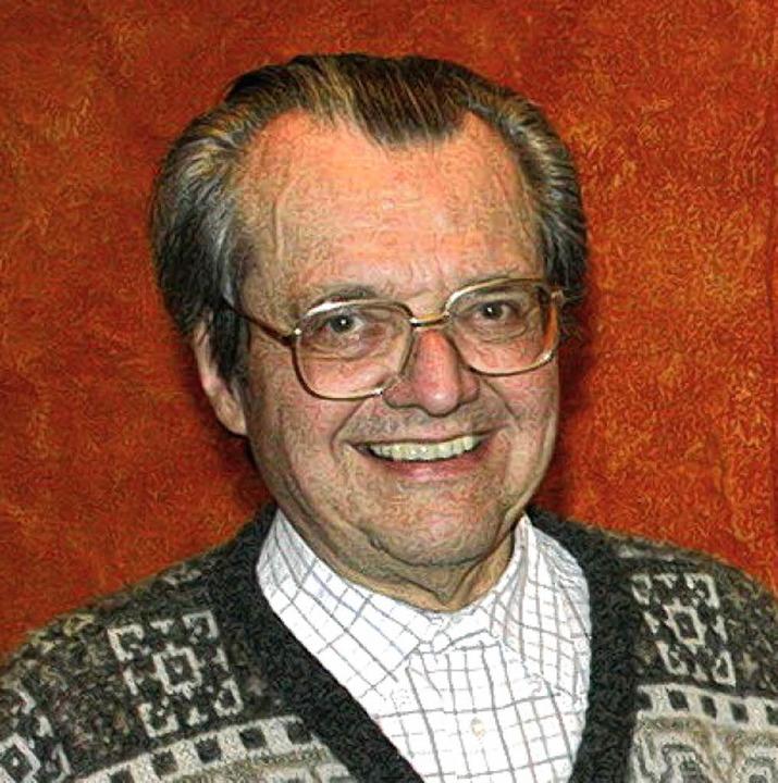Professor Bernhard Bischoff starb im Alter von 76 Jahren   | Foto: Hege