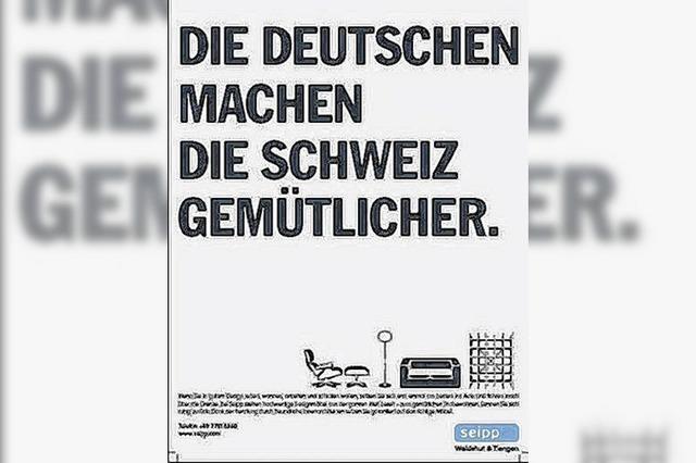 Wie Deutsche die Schweiz