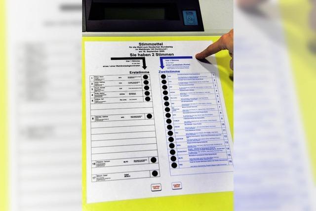 Wahlcomputer im Zwielicht