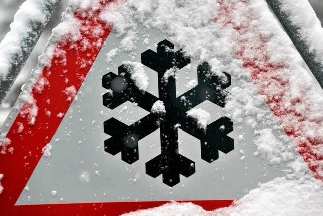 11 Zentimeter Schnee auf dem Feldberg