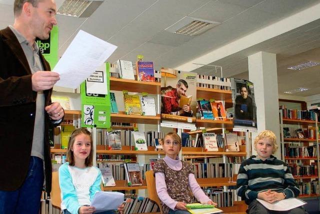 Kinderautoren lesen aus ihren Krimis