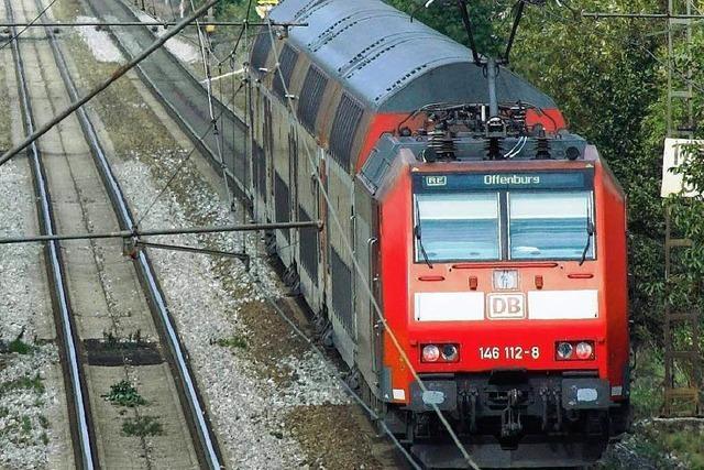 Behinderungen im Bahnverkehr