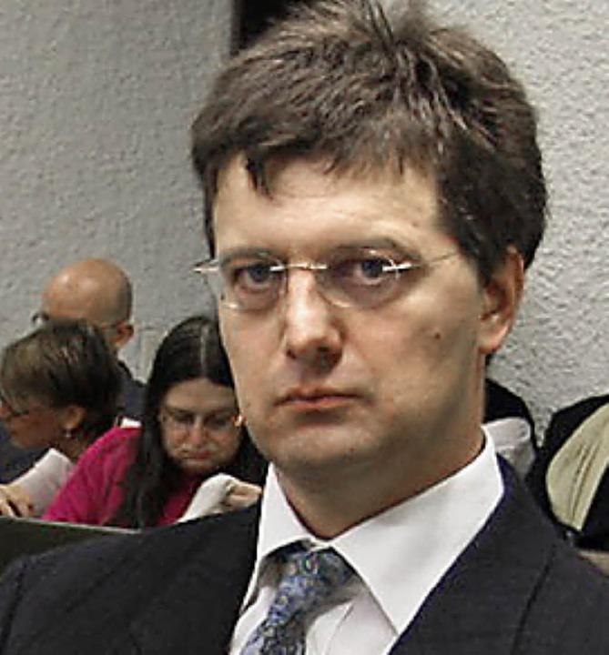 Angeklagter Richter Michael Irmler    Foto: Zeitenspiegel/Sascha Montag