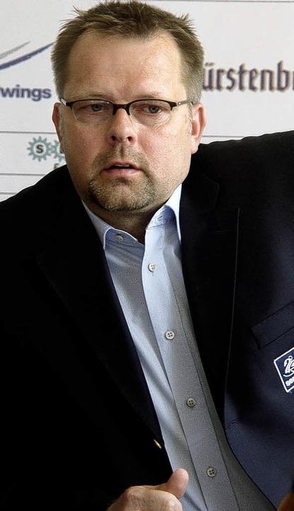 Unter Erfolgsdruck: SERC-Trainer Jari Pasanen  | Foto: Heinz Wittmann
