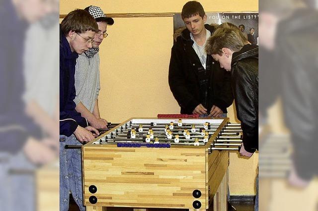 Zweites Turnier für Tischkicker im ProJuz