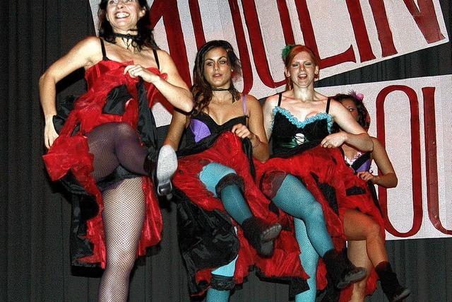 Fast wie im Moulin Rouge