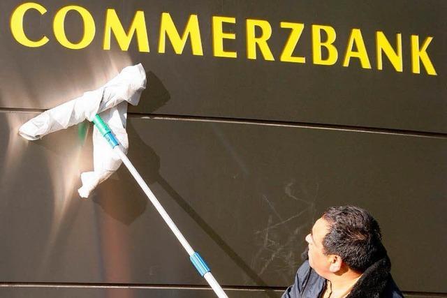 Commerzbank holt den Staat zu Hilfe