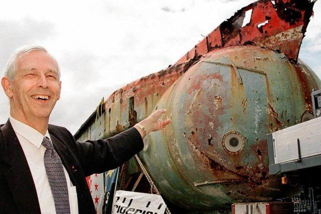 Meeresforscher Jacques Piccard ist tot