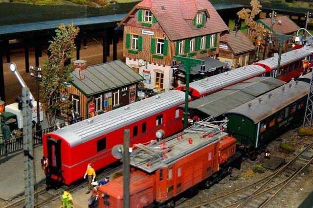 4000 Besucher bei Modellbahnausstellung