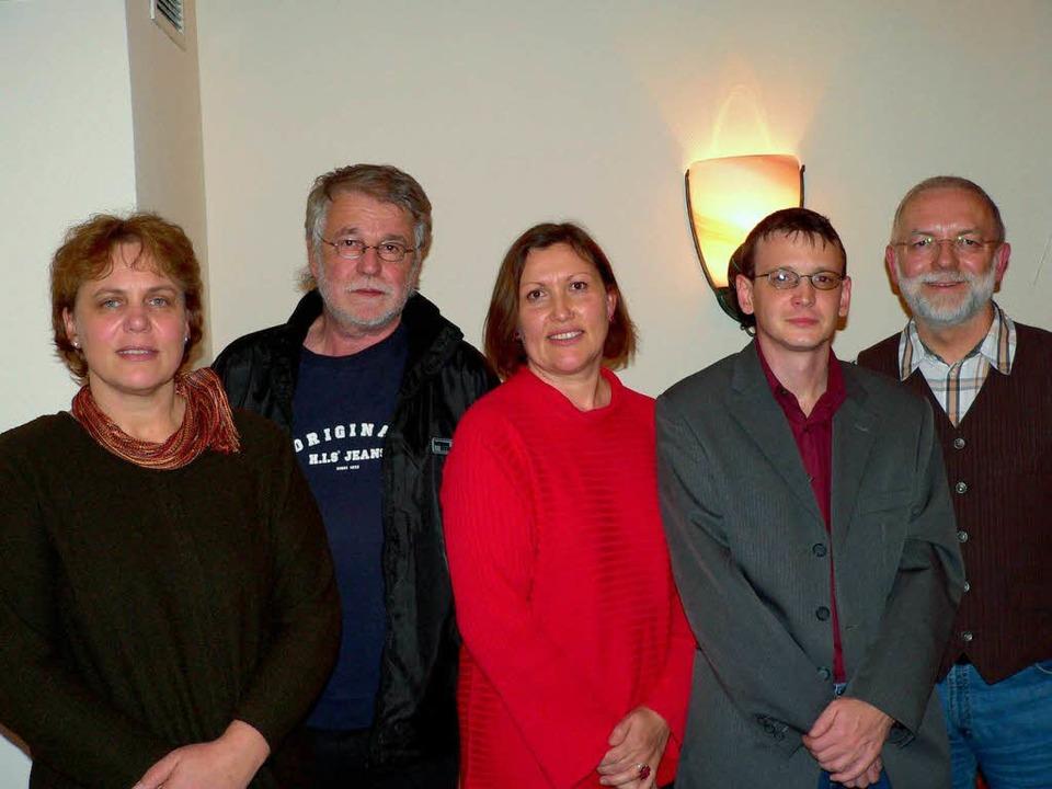 Dr. Dagmar Fuchs (Mitte) sowie von lin...homas Wilholm und  Ruthard Hirschner.     Foto: Diehl