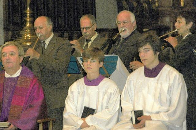 Im Fridolinsmünster wird der heilige Hubertus verehrt