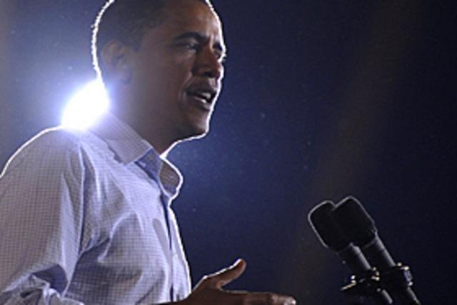 Chicago fiebert Obama entgegen