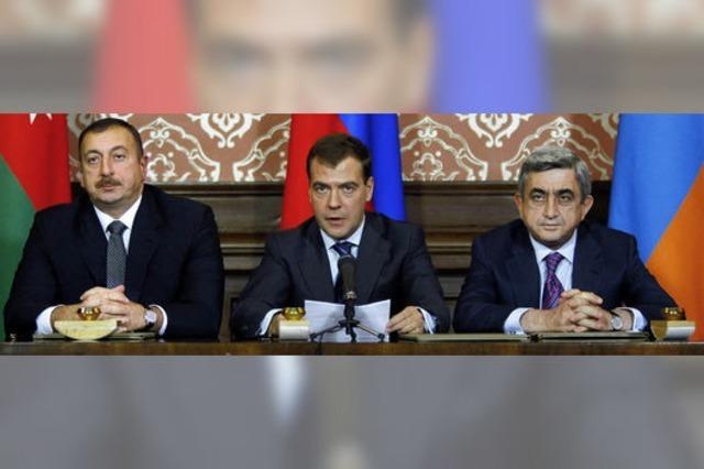 Bewegung im Konflikt um Karabach