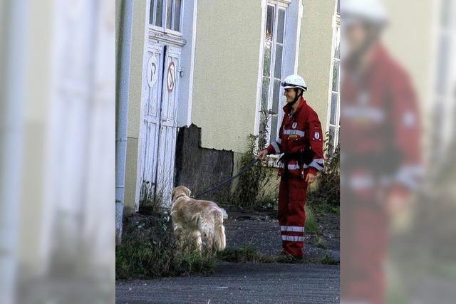 Nur geprüfte Hunde dürfen retten