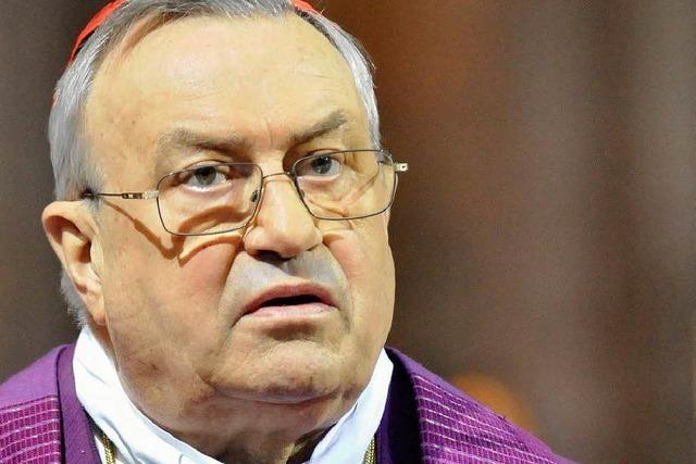 Kardinal Lehmann operiert