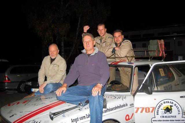 Hohberg: Mit einer Rallye etwas Gutes tun