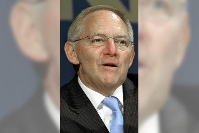 Prix Bartholdi: Ehrenpreis für Schäuble