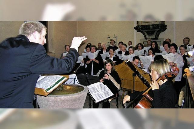 Geistliche Abendmusik auf hohem Niveau