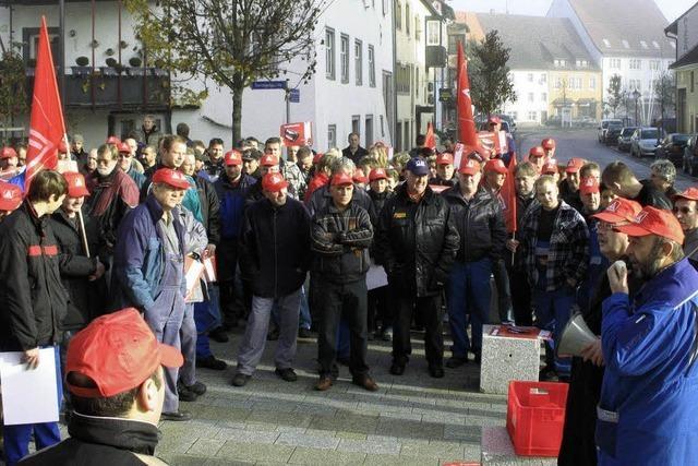 200 Metaller protestieren