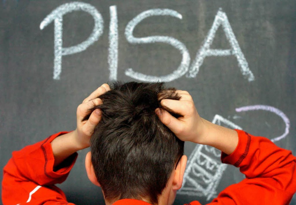 Der Anfang einer andauernden Debatte: ...en Bildungssystem schlechte Noten aus.  | Foto: Z1003 Jens Büttner