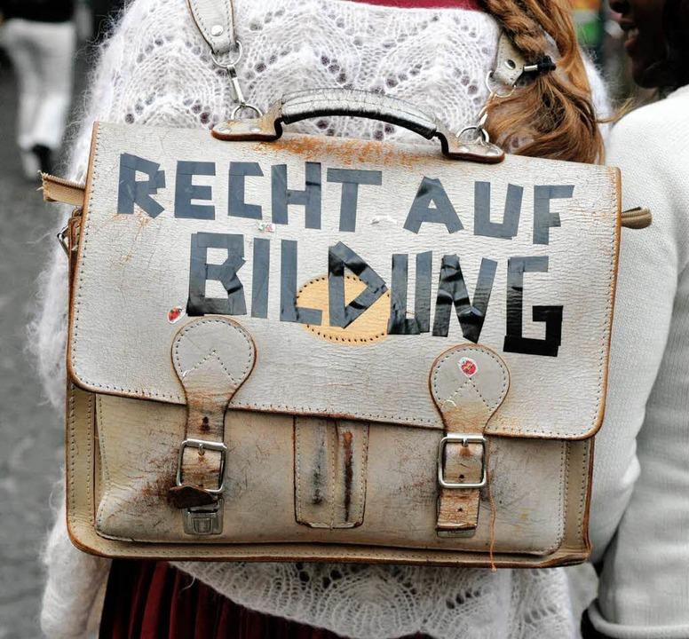Das Recht auf Bildung nutzt nichts, wenn die Qualität nicht stimmt.  | Foto: Ingo Schneider