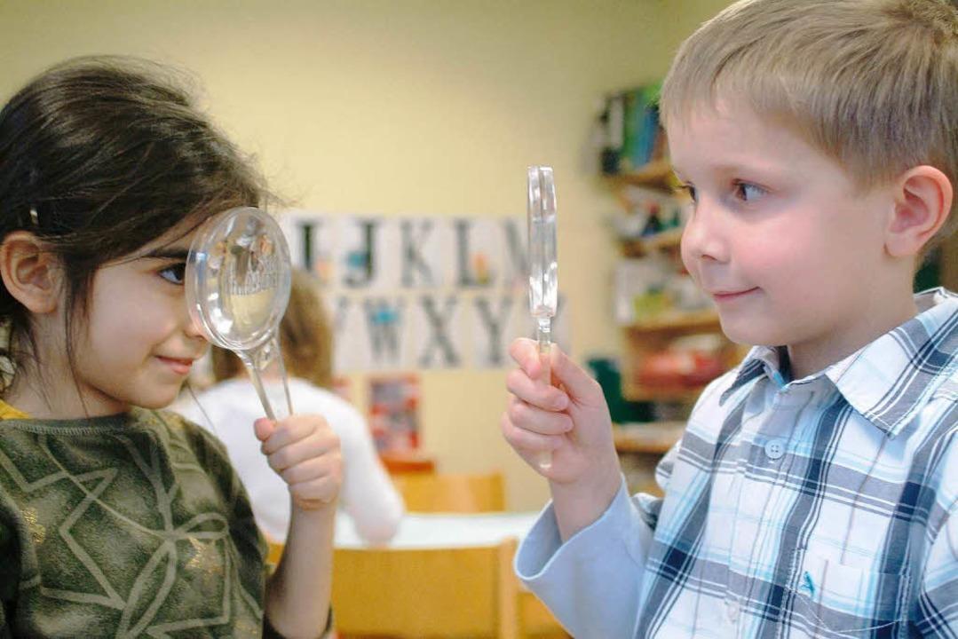 Der Kindergarten: Spielen, lernen – spielerisch lernen?  | Foto: Haus der kleinen Forscher