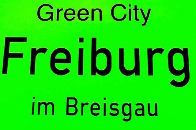 EU sucht Green City – Freiburg ist im Finale