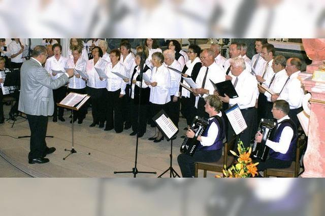 Akkordeonclub feiert mit Konzert und Festabend