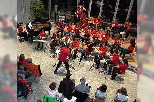 Orchester-AG feiert gelungene Premiere