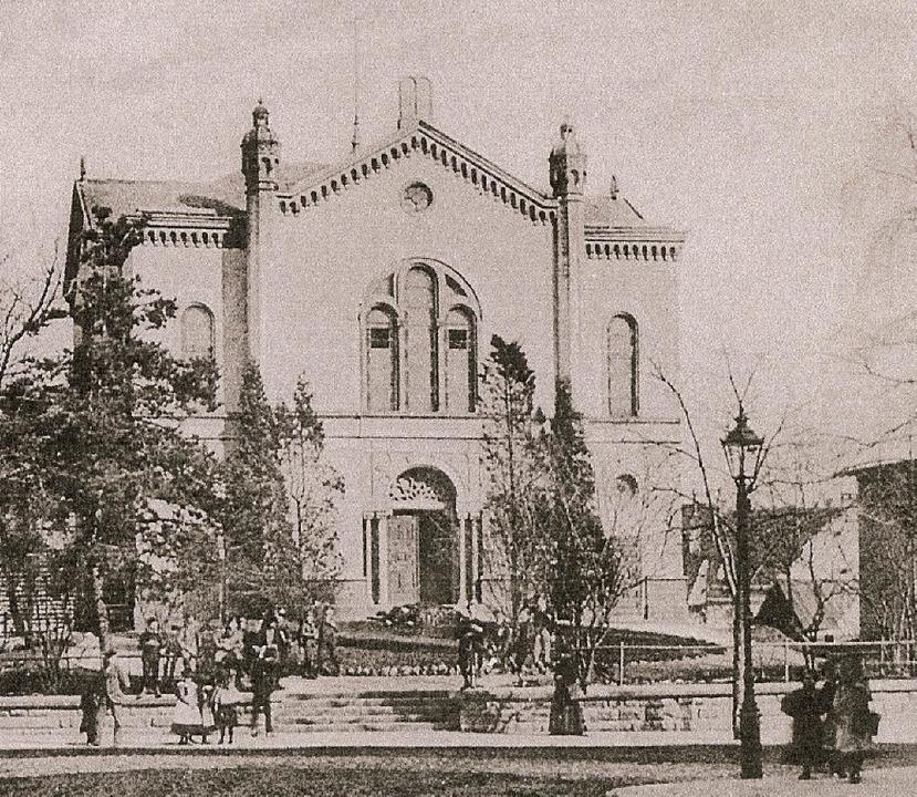 Alte Synagoge in Freiburg  | Foto: bz