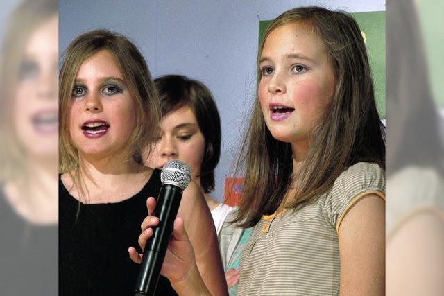 Tosender Applaus für junge Talente