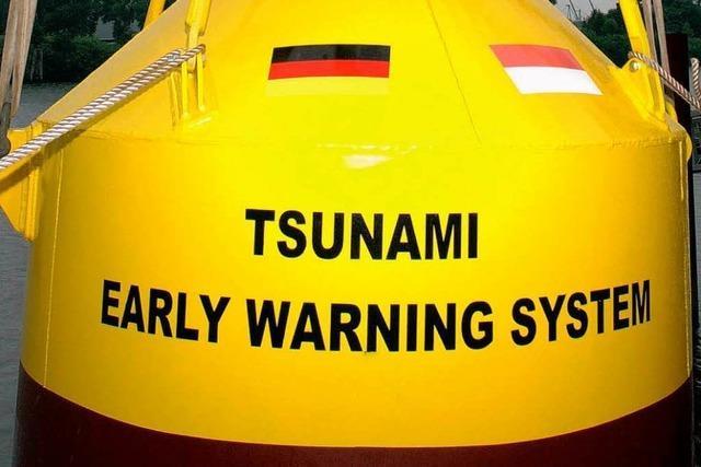 Tsunami-Warnsystem: Der Welle voraus