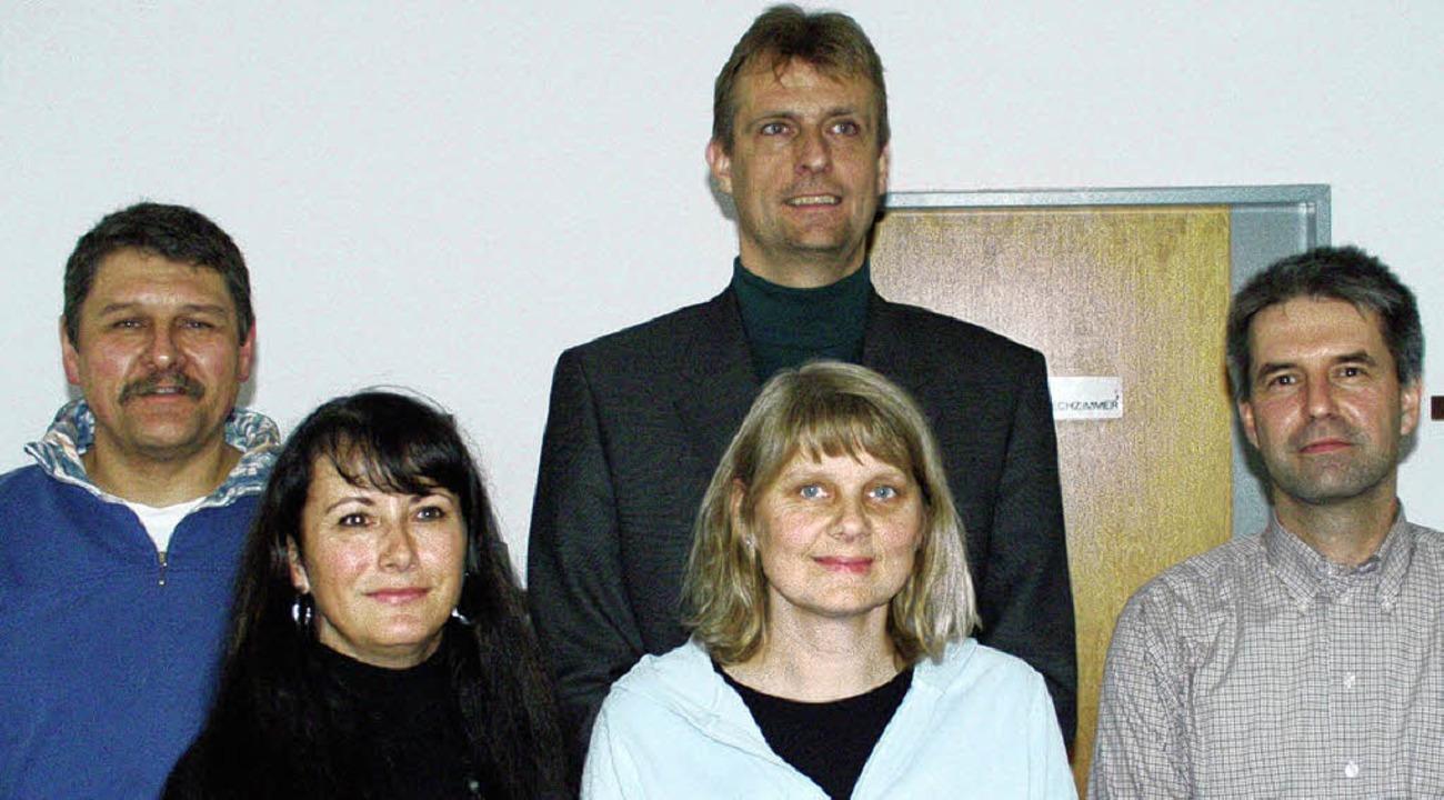 Der neugewählte Vorstand des Förderver... Christine Huber und Gerold Furler.     | Foto: Paul Schleer