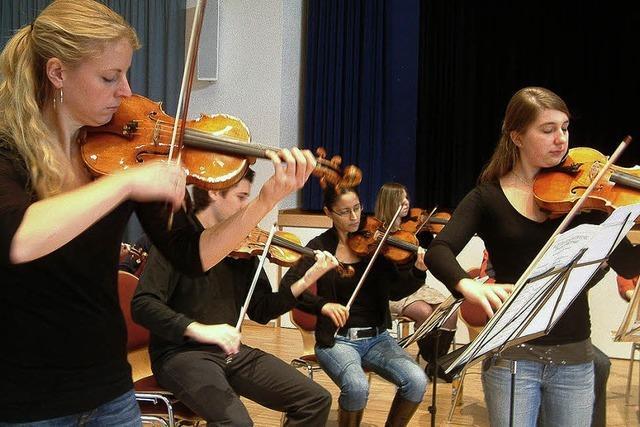 Von Instrumentenbau bis Orchesterprobe