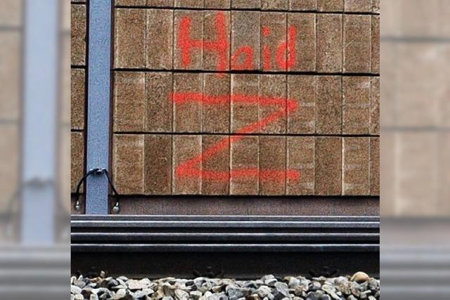 AUCH DAS NOCH: Graffiti zur Erinnerung?