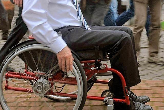 Behinderte wohnen selbstständig