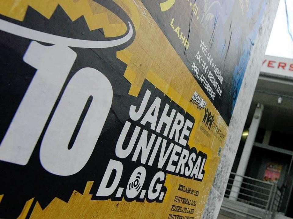 Das Universal D.O.G. lädt zur Geburtstagsparty  | Foto: henning