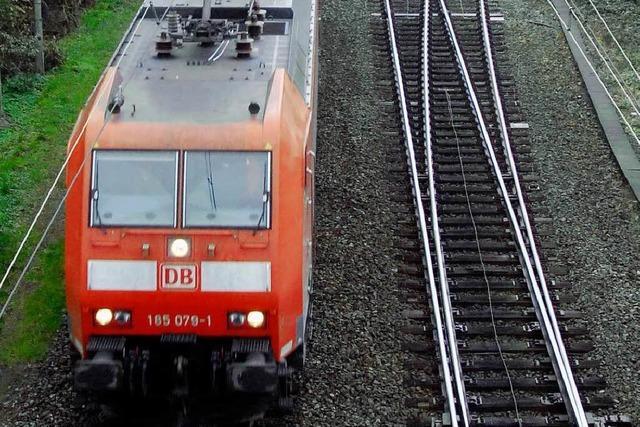 Rheintalbahn soll auf die Tagesordnung