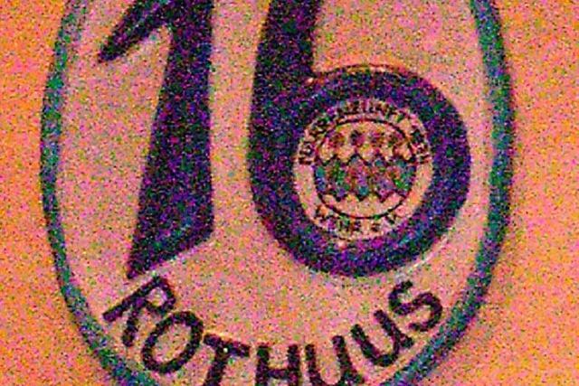 Endlich eine Nummer fürs Rothuus